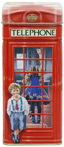Churchill's Telephone Kiosk Money Box with Toffees 200 g