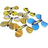 Huertuer 5Pcs verwandeln Flyer Fluttering Flying Magic Schmetterling Trick Prop für Kinder