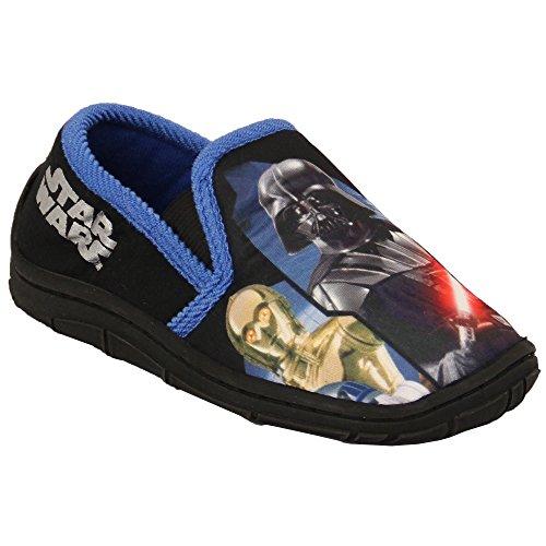 Garcon Star Wars Chaussures SWLUNTLEY Noir/Bleu UK 8/EU 26