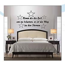 WANDTATTOO / Wandsticker W033 Spruch Nimm Dir Zeit Um Zu Träumen, Es Ist  Der Weg