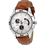 Give And Take Analogue White Dial Men's watch (avio)