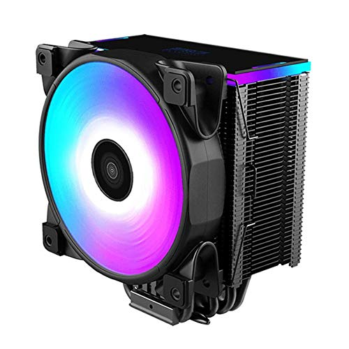 AFFECO 5 Heatpipe CPU Cooler 12cm RGB Fan Radiator CPU Cooling Fan with Controller