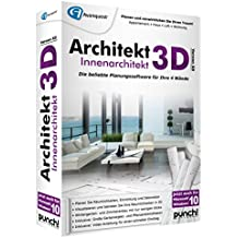 Avanquest Architekt 3D X8 Innenarchitekt - Software de diseño automatizado (CAD) (Alemán, PC, 1GHz Intel Pentium, 512 MB, 4500 MB, DVD-ROM)
