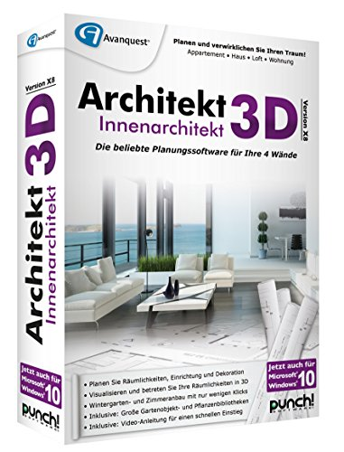 Architekt 3D X8 Innenarchitekt -