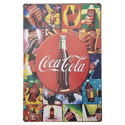 Marquise & lorean  targhe metallo   insegna vintage coca cola ✔️ targa   poster decorazioni cocacola  guarda qui