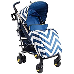 My Babiie MB51 Blue Chevron Stroller Allis Baby Made according to British Standard EN1888, Fire Safety Regulations 1988. Lockable 360 swivel wheels, removable and suspension. Ultralight Design:Aluminium frame. Suitable from 6M - 4Ys ( upto 15Kg Approx) 11