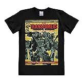 Photo de Logoshirt T-Shirt Robots in Disguise - T-Shirt Transformers - T-Shirt à col Rond de Noir - Design Original sous Licence par Logoshirt