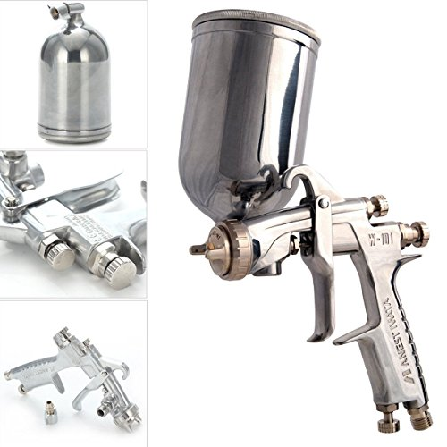 W-101 1.3mm HVLP Gravity Feed Paint Spray Gun con Cup T