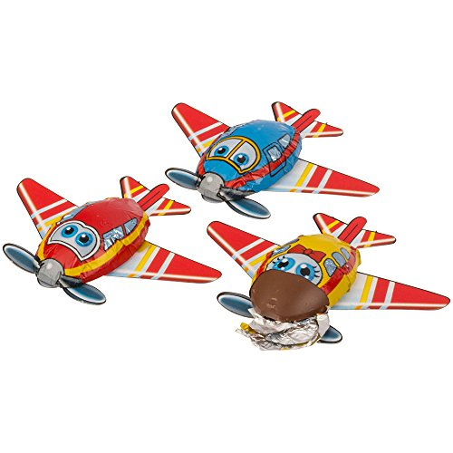 Storz - Lot de 3 avions en chocolat
