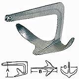 Osculati Trefoil Stahl Anker 5kg - feuerverzinkt
