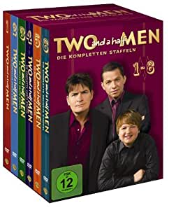 Two and a half Men Superbox (Staffel 1-6, exklusiv bei Amazon.de)