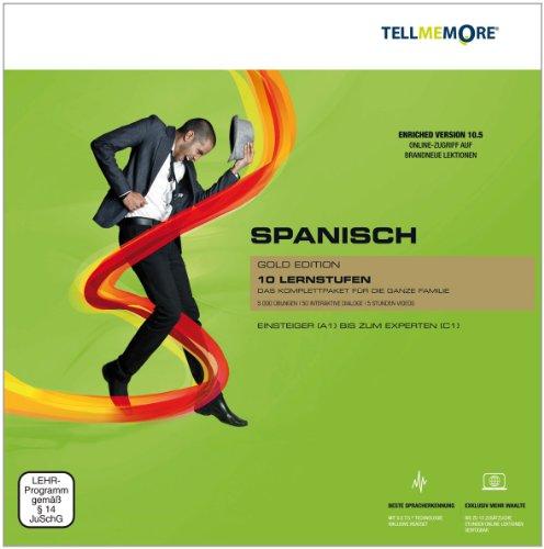 Tell me More Spanisch. 10 Lernstufen. Version 10.5. Gold Edition