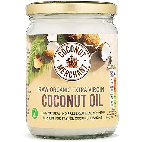 Aceite de coco 500 ml Aceite puro de coco virgen extra orgánico