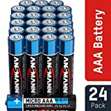 ANSMANN Pile Mini Stilo AAA Alcaline Batterie LR3 - Confezione da 24 Batteria