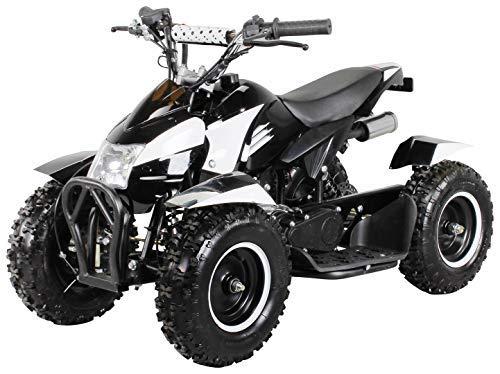 Miniquad Kinder ATV Cobra 49 cc Pocketquad 2-takt Quad ATV Pocket Quad Kinderquad Kinderfahrzeug schwarz/weiss
