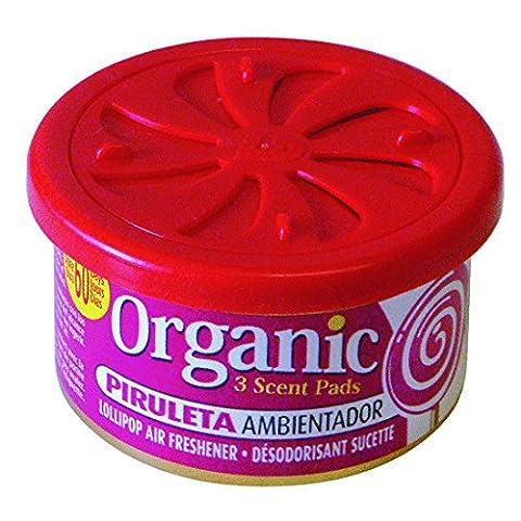 Organic Scent Parfum Boîte Lollipop–pirul ETA voiture désodorisant Parfum Espace Désodorisant