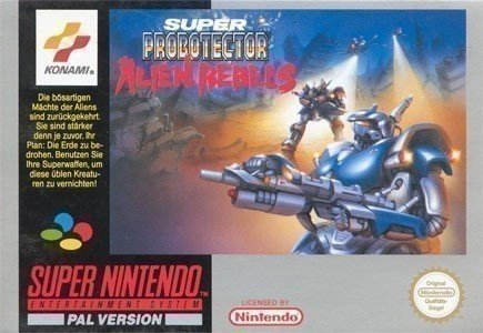 Super Probotector: Alien Rebels SNES