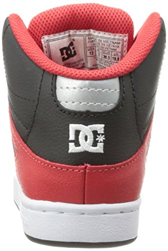 DC Shoes Rebound B high-top nero (Black/Armor/Black)