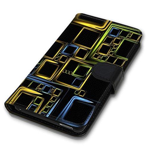 Wallet Book Style Flip Handy Tasche Case Schutz Hülle Schale Motiv Etui für Apple iPhone 4 / 4S - Variante UMV1 Design12 Design 2