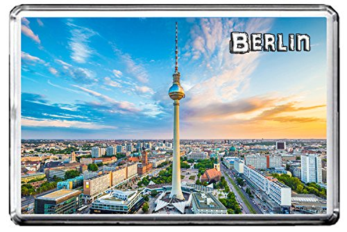 0347 BERLIN KÜHLSCHRANKMAGNET THE CITY OF GERMANY REFRIGERATOR MAGNET GERMANY LANDMARKS, GERMANY ATTRACTIONS