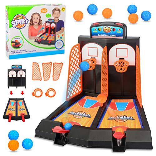 Goefly Table Top Mini Basketball Basket Throwing Game