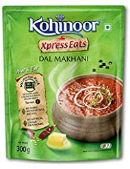 Kohinoor Xpress Eats, Ready-to-Eat Dal Makhani, 300g Microwave Pack