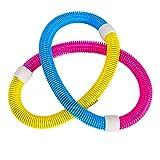 ChicSoleil Spring Hula Hoop Flexible Bauchtrainer Fitness Frühling Hula Hoop...