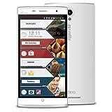 Vexia Zippers 5 Plus - Smartphone de 5.5' (WiFi, Bluetooth 4.0, Android) color blanco