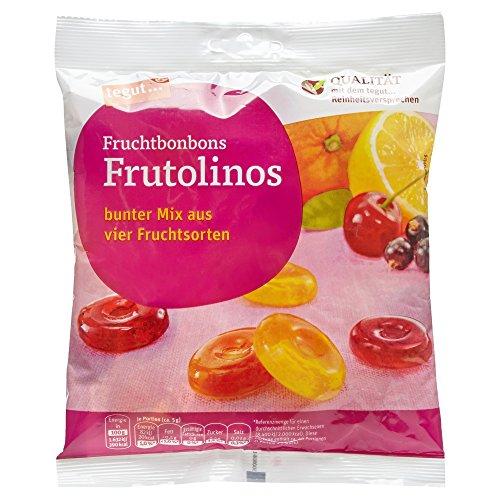 Tegut Frutolinos Fruchtbonbon, 200 g