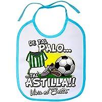 Babero De tal palo tal astilla Betis fútbol