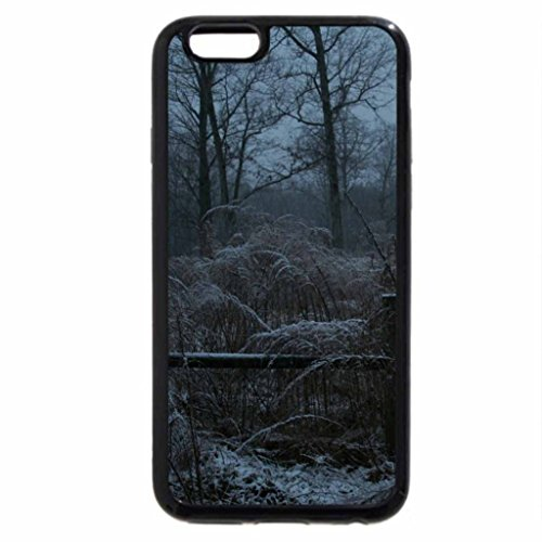 iPhone 6S / iPhone 6 Case (Black) winter dusk on an old farm