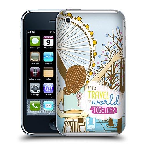 Head Case Designs Unbegrenztheitskleid Meine BFF Hüllen Ruckseite Hülle für Apple iPhone 5 / 5s / SE Braunhaarig