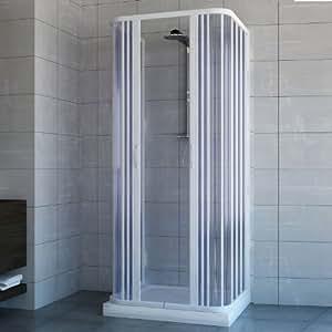 cabine paroi de douche 3 c t s en plastique pvc mod ariete 70x70 cm avec ouv. Black Bedroom Furniture Sets. Home Design Ideas