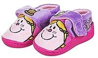 Girls Little Miss Princess Crown Slippers