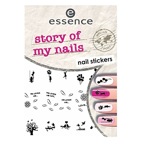ESSENCE NAIL ART STICKERS PARA UÑAS 06 STORY OF MY NAILS