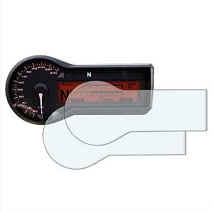 Speedo Angels Displayschutzfolie Tachoschutzfolie Für R1200r R1200rs 2015 2 X Entspiegelt Auto