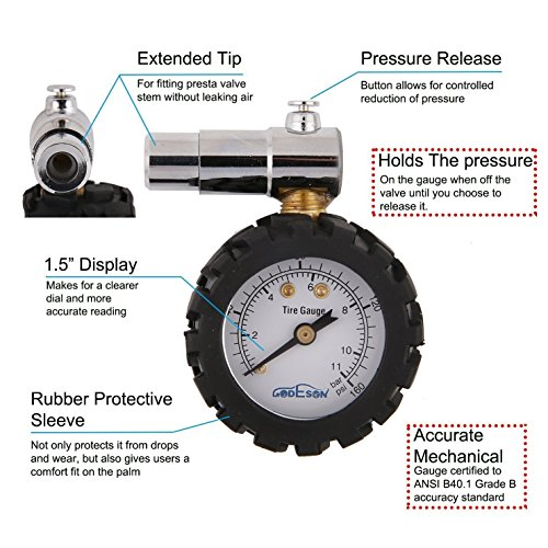 Godeson-Bicycletire-pressure-gauge-0--160PSI-e-0--11BAR