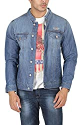 U.S. Polo Assn. Mens Cotton Casual Jacket (8907163231529_USJK0308_L FS_Indigo)