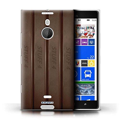 Kobalt® Imprimé Etui / Coque pour Nokia Lumia 1520 / Blocs Dairy Milk conception / Série Chocolat Doigts/Sticks