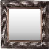 Arthouse, Sassari Square Accent Wall Mirror, Copper