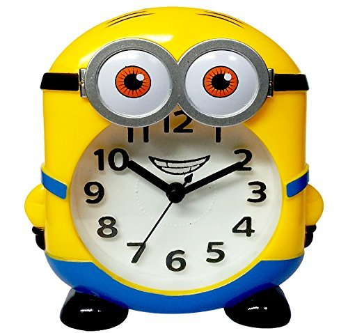 MINIONS TABLE/WALL ALARM CLOCK / DESK CLOCK FOR KIDS/WALL DECOR FOR KIDS...
