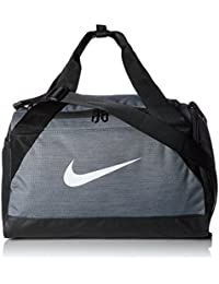 Nike Nk Brsla XS Duff Bolsa de Deporte, Hombre, Gris (Flint Grey/