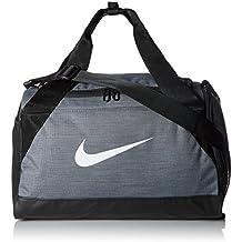 Nike Nk Brsla Xs Duff Bolsa de Deporte, Hombre, Gris (Flint Grey / Black / White), Talla Única