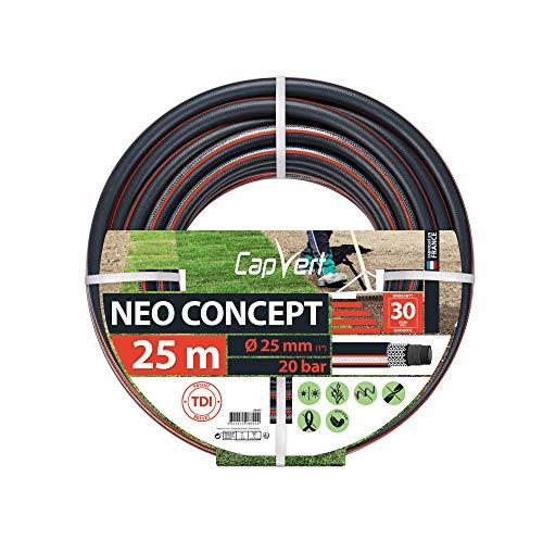 Cap Vert Tuyau d'arrosage Néo Concept Diamètre 25 mm - Longueur 25 m