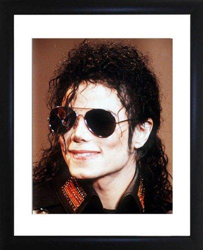 Michael Jackson Framed Photo (Framed Jackson Photo)