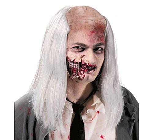 Calva de Zombie con pelo