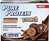 Pure Protein Pure Protein Crunch Bites, Double Chocolate 1.20 oz/6 Packets