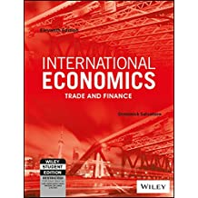 Amazon dominick salvatore books international economics trade and finance 11ed isv wse fandeluxe Choice Image