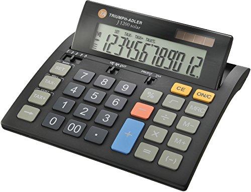 triumph-adler-88-j1200solar-tischrechner-12-stellig-mit-lcd-display