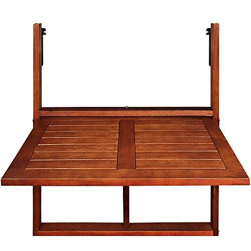 Zoom IMG-3 deuba tavolino pieghevole da balcone